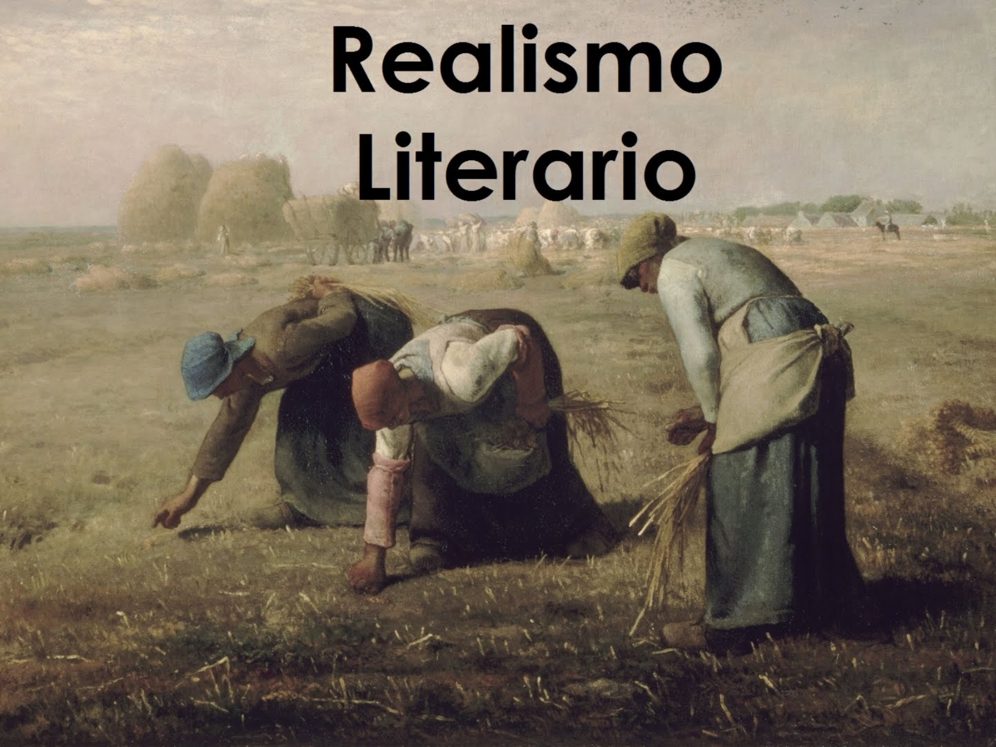 El realismo literario