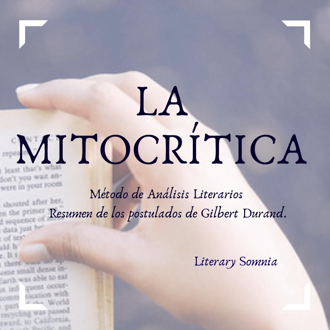 mitocrítica método de análisis literario