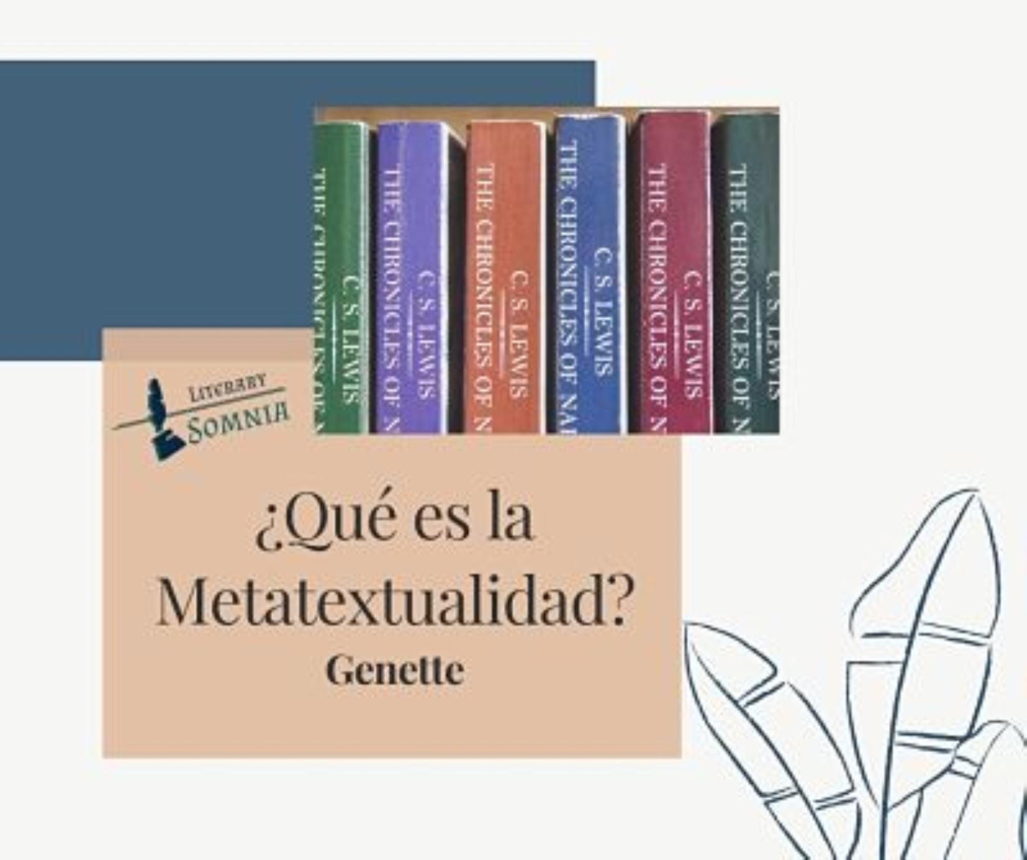 metatextualidad genette literatura
