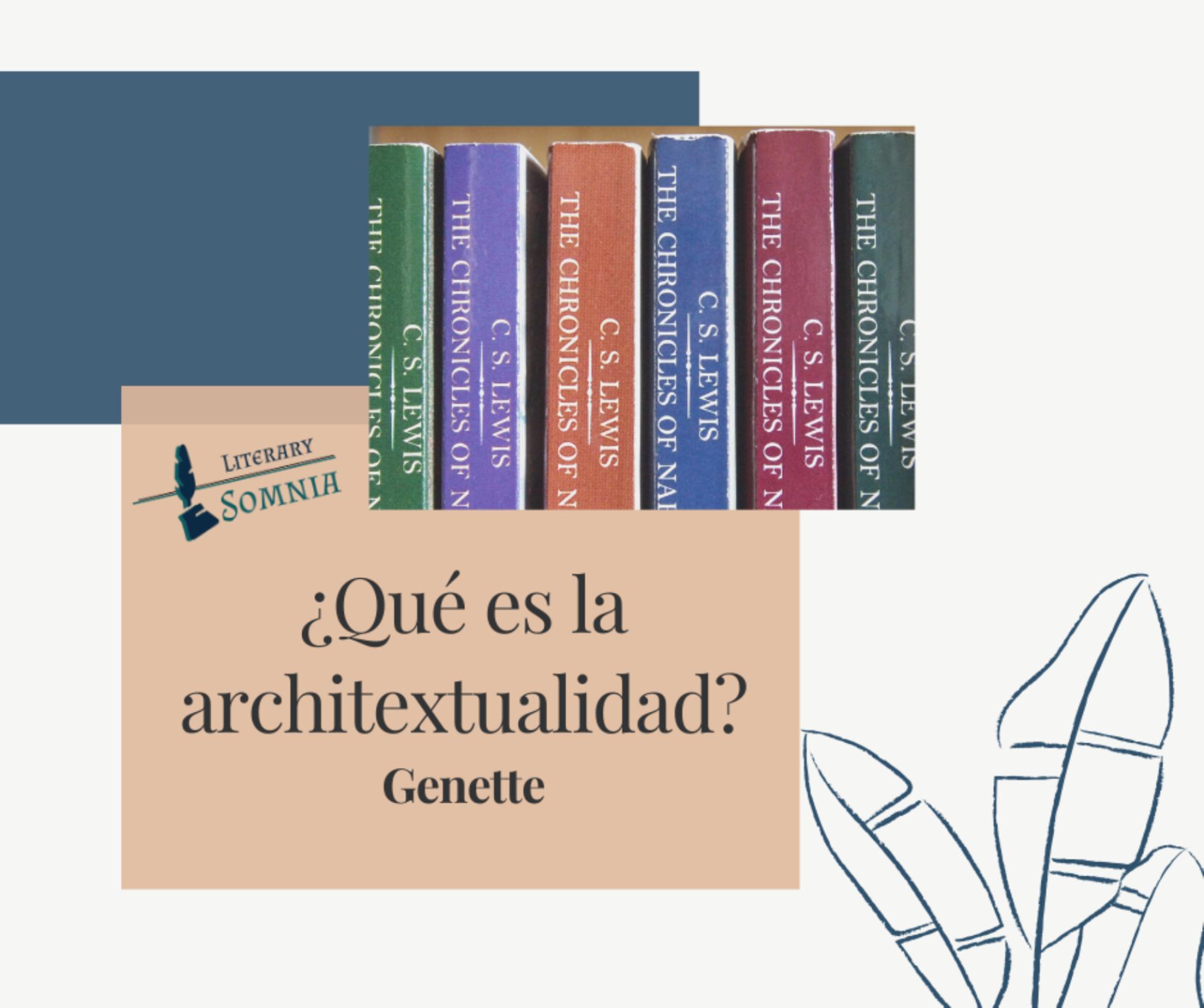 architextualidad en la literatura