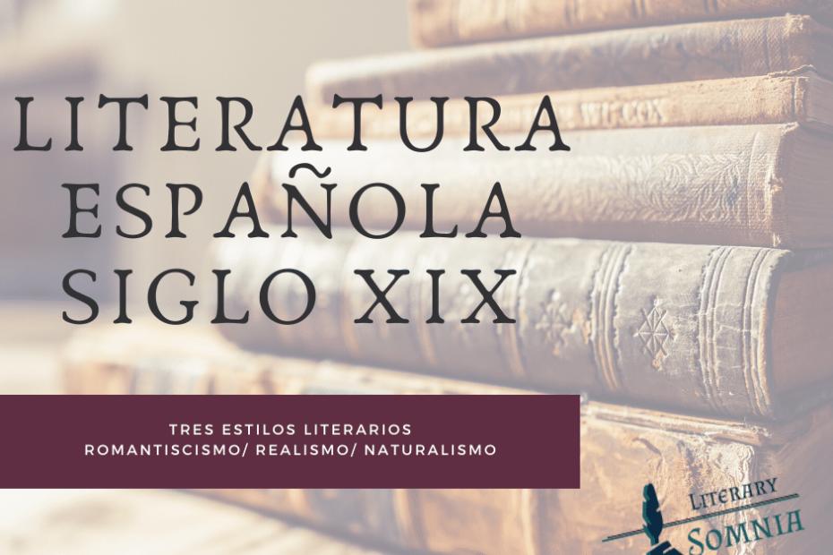 literatura española siglo xix