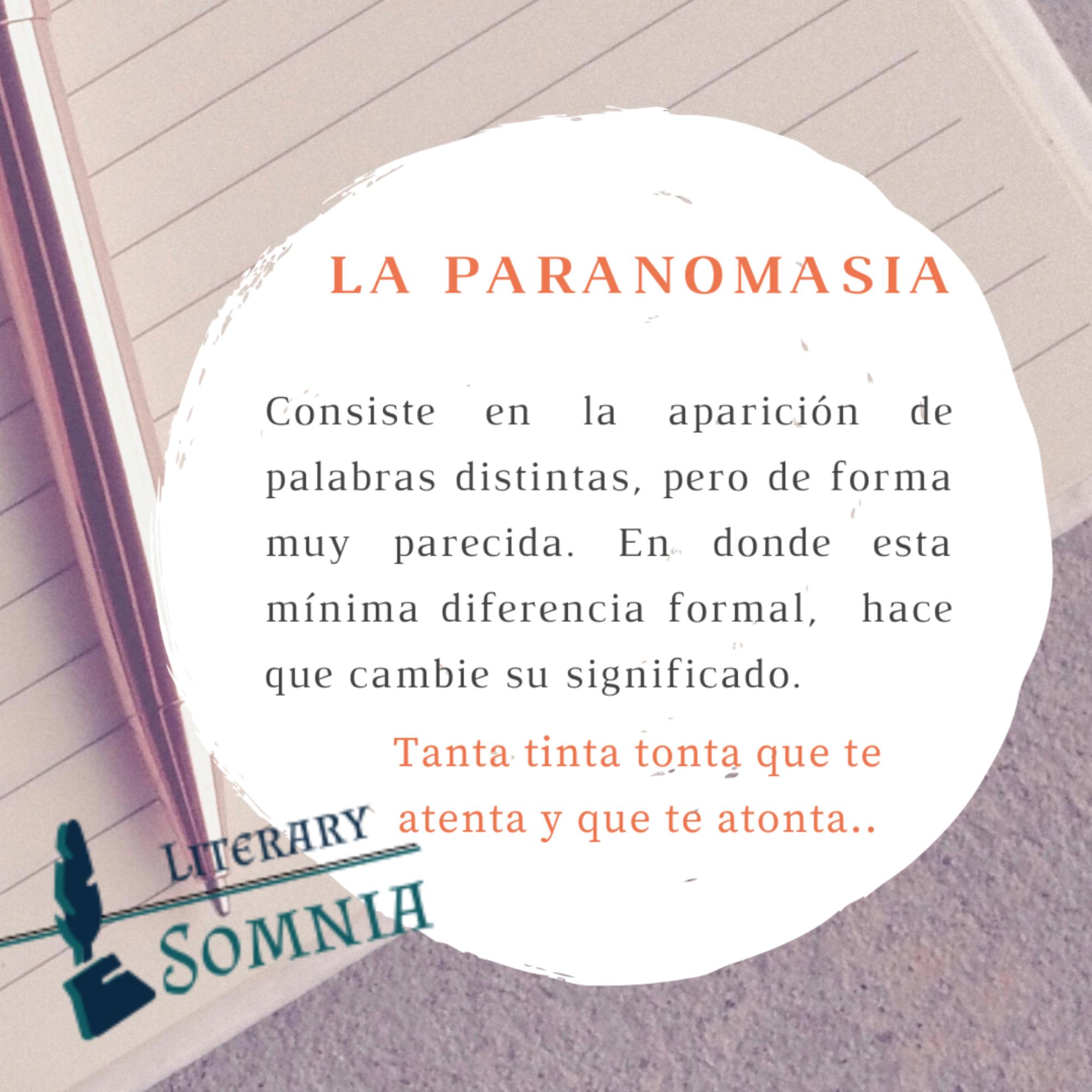 La Paranomasia