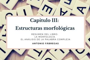 Estructuras morfológicas fabrega