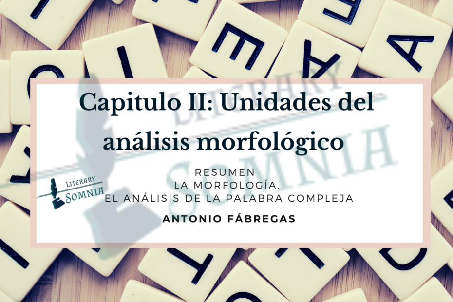 Análisis morfologico de Fábrega