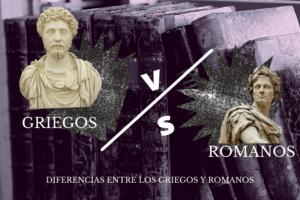 Diferencias entre griegos y romanos